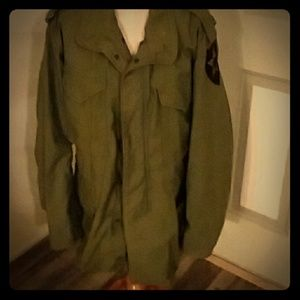 Military issue field jacket